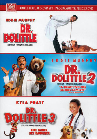 Dr. Dolittle / Dr. Dolittle 2 / Dr. Dolittle 3 (Triple Feature) (Bilingual) DVD Movie