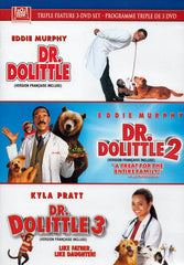 Dr. Dolittle / Dr. Dolittle 2 / Dr. Dolittle 3 (Triple Feature) (Bilingual)