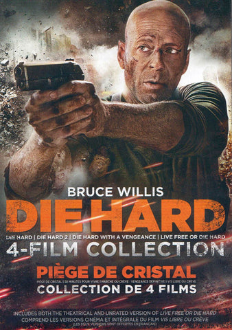 Die Hard (4-Film Collection) (Boxset) (Bilingual) DVD Movie