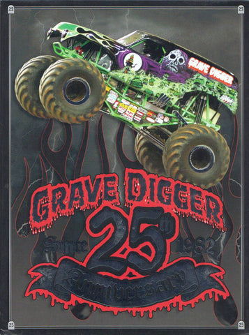 Grave Digger 25th Anniversary DVD Movie