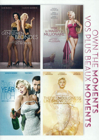 Gentlemen Prefer Blondes ......... There s No Business Like Show Business (4 Movies) (Bilingual) DVD Movie