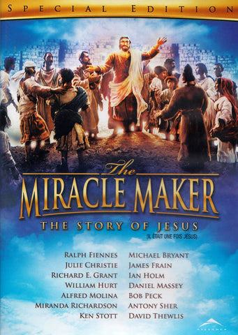 The Miracle Maker -The Story of Jesus (Special Edition) (Bilingual) DVD Movie