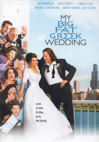 My Big Fat Greek Wedding (Widescreen) (MAPLE) DVD Movie
