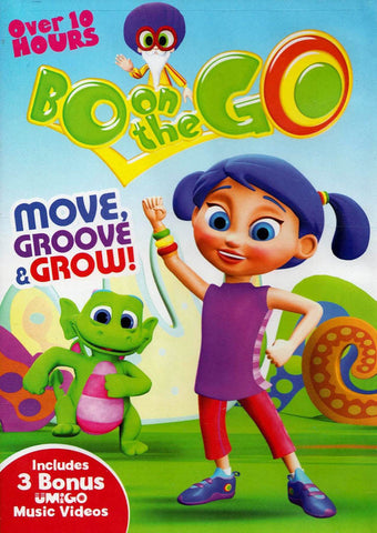 Bo On The Go: Move, Groove & Grow! DVD Movie