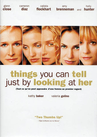 Things You Can Tell Just By Looking At Her (Bilingual) DVD Movie