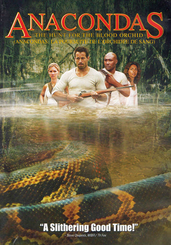 Anacondas - The Hunt for the Blood Orchid (Bilingual) DVD Movie