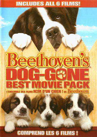 Beethoven s Dog-gone Best Movie Pack (Bilingual) DVD Movie