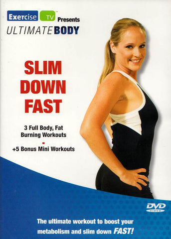 Slim Down Fast (Ultimate Body) DVD Movie