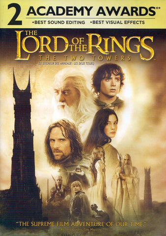 The Lord of the Rings - The Two Towers (Widescreen) (Bilingual) DVD Movie