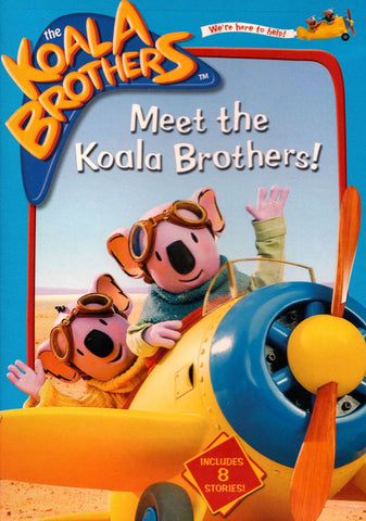 The Koala Brothers - Meet the Koala Brothers! (MAPLE) DVD Movie