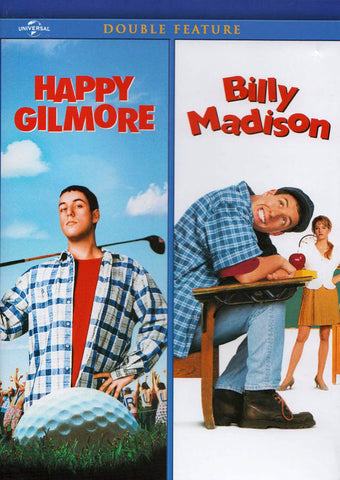 Happy Gilmore / Billy Madison (Double Feature) DVD Movie