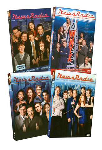 Newsradio - The Complete Collection (Boxset) DVD Movie