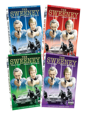 The Sweeney Complete Collection Pack (Boxset) DVD Movie