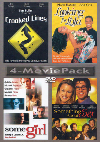 Crooked Lines / Looking for Lola / Some Girl / Something About Sex DVD Movie