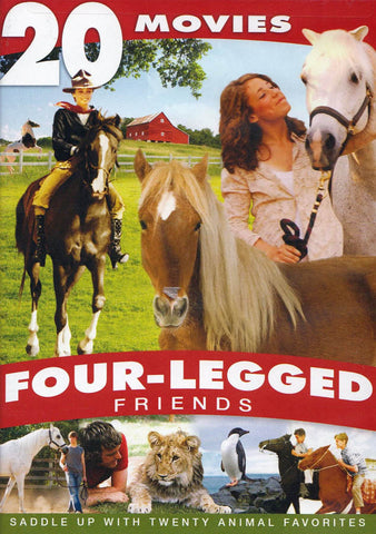 Four-Legged Friends - 20 Movie Collection DVD Movie