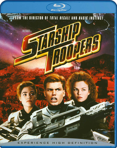 Starship Troopers (Blu-ray) BLU-RAY Movie