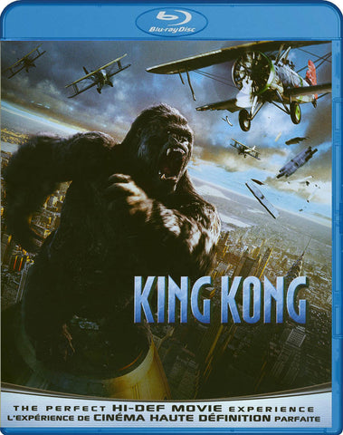 King Kong (Blu-ray) (Bilingual) BLU-RAY Movie