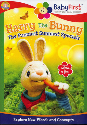 Harry The Bunny - The Funniest Sunniest Specials DVD Movie