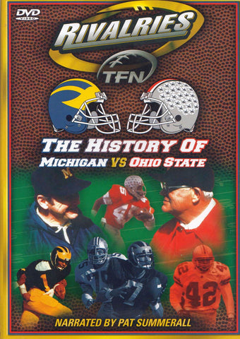 The History of Michigan VS Ohio State (Rivalries) DVD Movie
