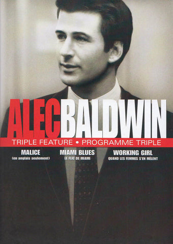 Alec Baldwin Collection (Malice / Miami Blues / Working Girl) (Bilingual) (Black Spine) DVD Movie