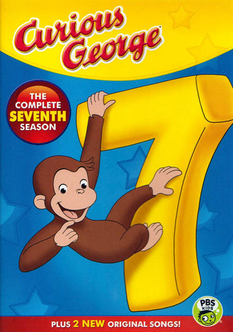 Curious George - The Complete Seventh (7) Season DVD Movie