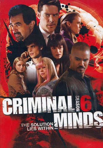 Criminal Minds - The Sixth (6) Season (Keepcase) (Boxset) DVD Movie