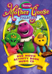 Barney - Mother Goose Collection (DVD Movie + Activity + Music CD) (MAPLE)