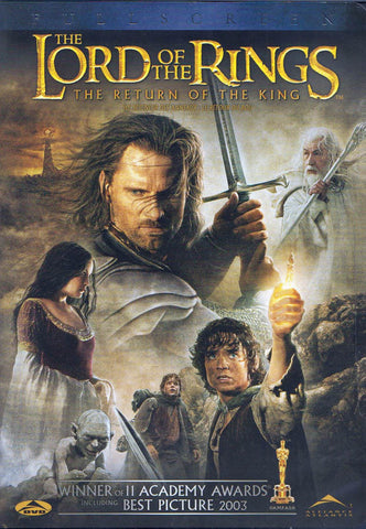 The Lord of the Rings - Return of the King (Full Screen Edition) (Bilingual) DVD Movie