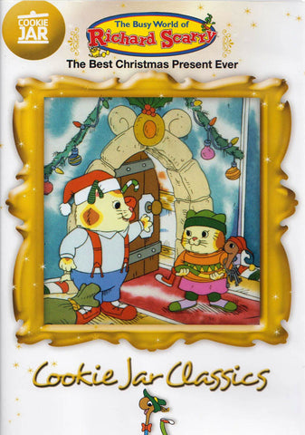 The Best Christmas Present Ever - Cookie Jar Classics (White Cover) DVD Movie