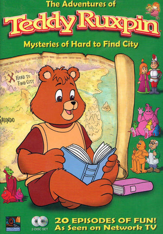 The Adventures of Teddy Ruxpin: Mysteries of Hard to Find City (Boxset) DVD Movie