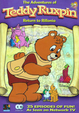 The Adventures of Teddy Ruxpin: Return to Rillonia (Boxset) DVD Movie