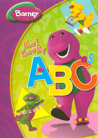 Barney - Now I Know My ABC s (Purple Spine) DVD Movie