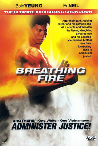 Breathing Fire (Bolo Yeung) DVD Movie