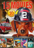 15-Movie (Adventures Of Bailey / Pets To The Rescue ....... A 2nd Chance / The Journey) DVD Movie