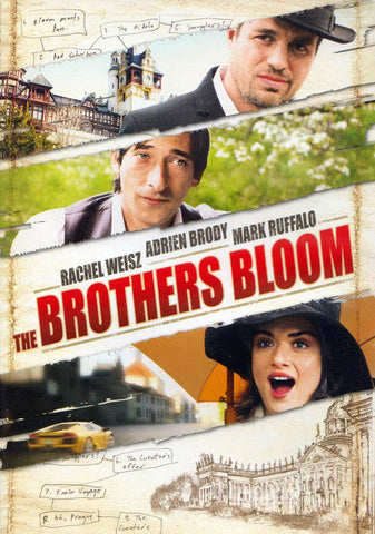 The Brothers Bloom DVD Movie