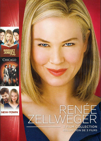 Renee Zellweger - 3 Film Collection (Bridget Jones s Diary / Chicago / New in Town) (Bilingual) DVD Movie