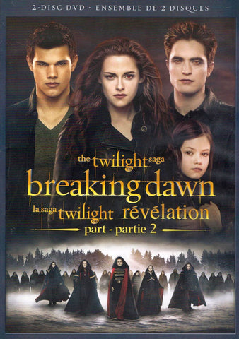 The Twilight Saga : Breaking Dawn - Part 2 (Bilingual) DVD Movie