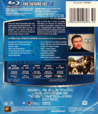 Conquest of the Planet of the Apes (Blu-ray) (Bilingual) BLU-RAY Movie