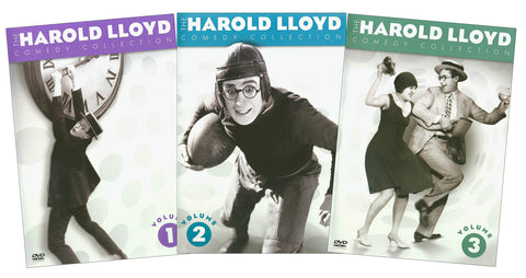 The Harold Lloyd Comedy Pack Vols 1-3 (Boxset) DVD Movie