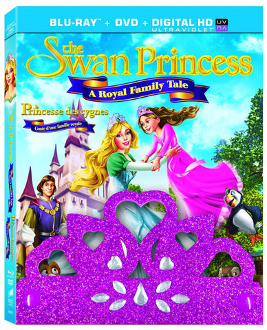 The Swan Princess - A Royal Family Tale (Blu-ray + DVD + Digital HD Ultraviolet) (Bilingual) DVD Movie