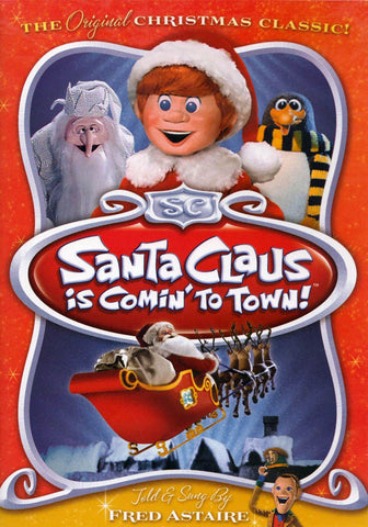 Santa Claus Is Comin to Town (Full Screen) (Told By Fred Astaire) DVD Movie