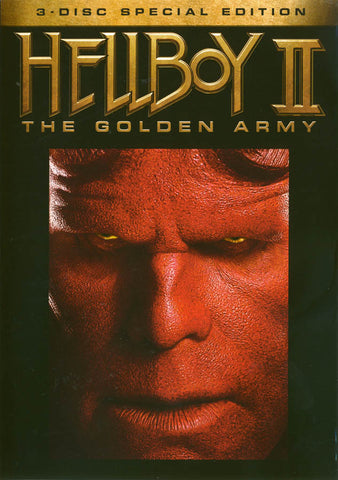 Hellboy II - The Golden Army (3 Disc Special Edition) DVD Movie