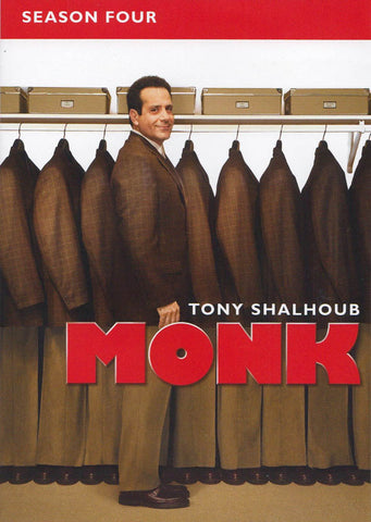 Monk - Season Four (4) (Keepcase) (Boxset) DVD Movie
