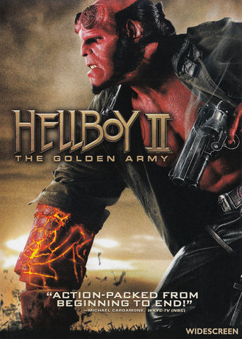 Hellboy II - The Golden Army (Widescreen) DVD Movie
