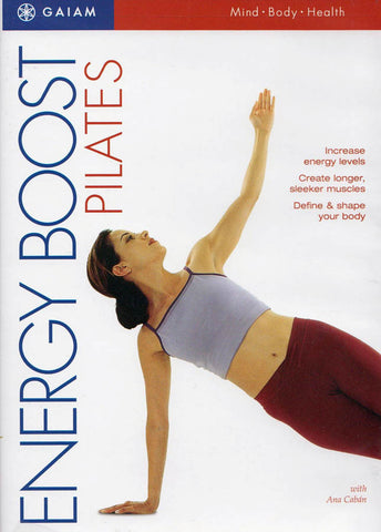 Energy Boost Pilates DVD Movie