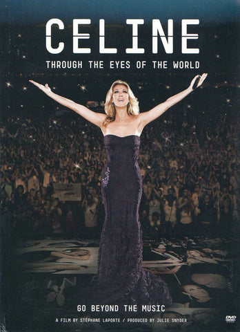 Celine - Through The Eyes Of The World DVD Movie