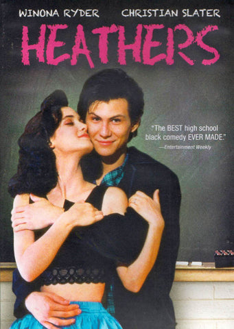 Heathers (Black Cover) DVD Movie