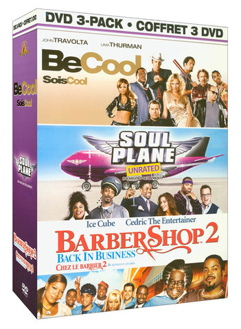 Be Cool / Soul Plane(Unrated) / Barber Shop 2(Bilingual) (Boxset) DVD Movie