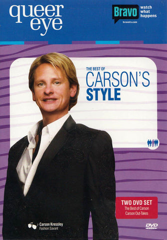 Queer Eye - The Best of Carson's Style DVD Movie