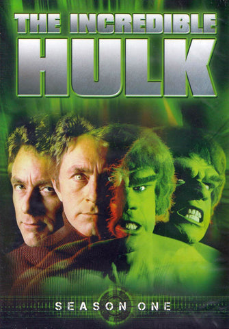 The Incredible Hulk - Season One (1) (Keepcase) DVD Movie